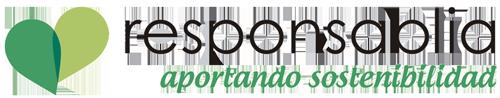 logotipo responsablia. aportando sostenibilidad